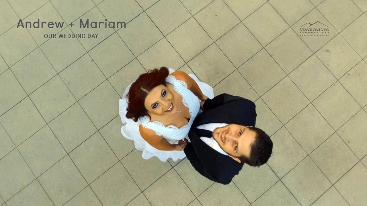 Andrew + Mariam's Wedding Highlights at Anoush Hall st Mary's Church and Pasadena City Hall