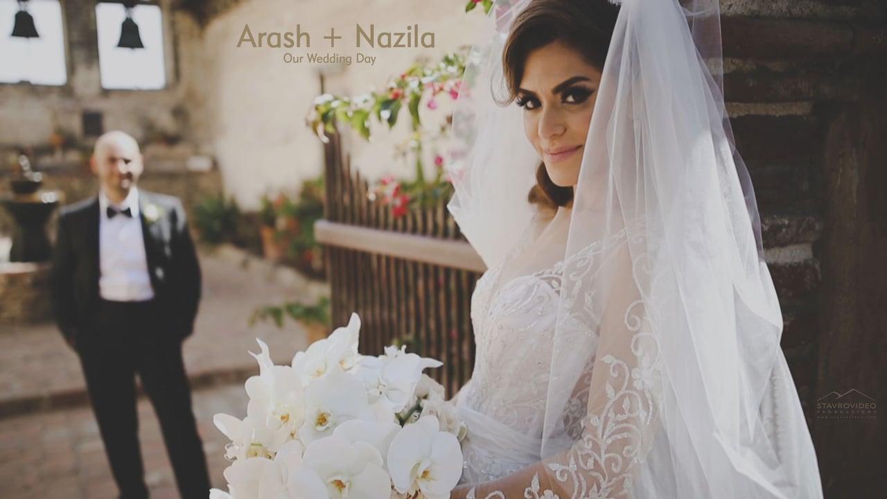 Arash + Nazila's Wedding Highlights