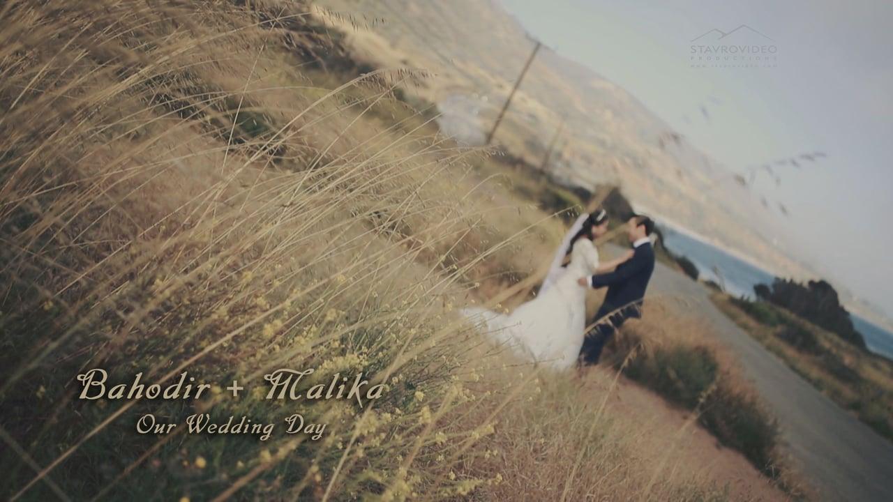 Bahodir + Malika's Wedding Highlights at Hollywood Banquet Hall