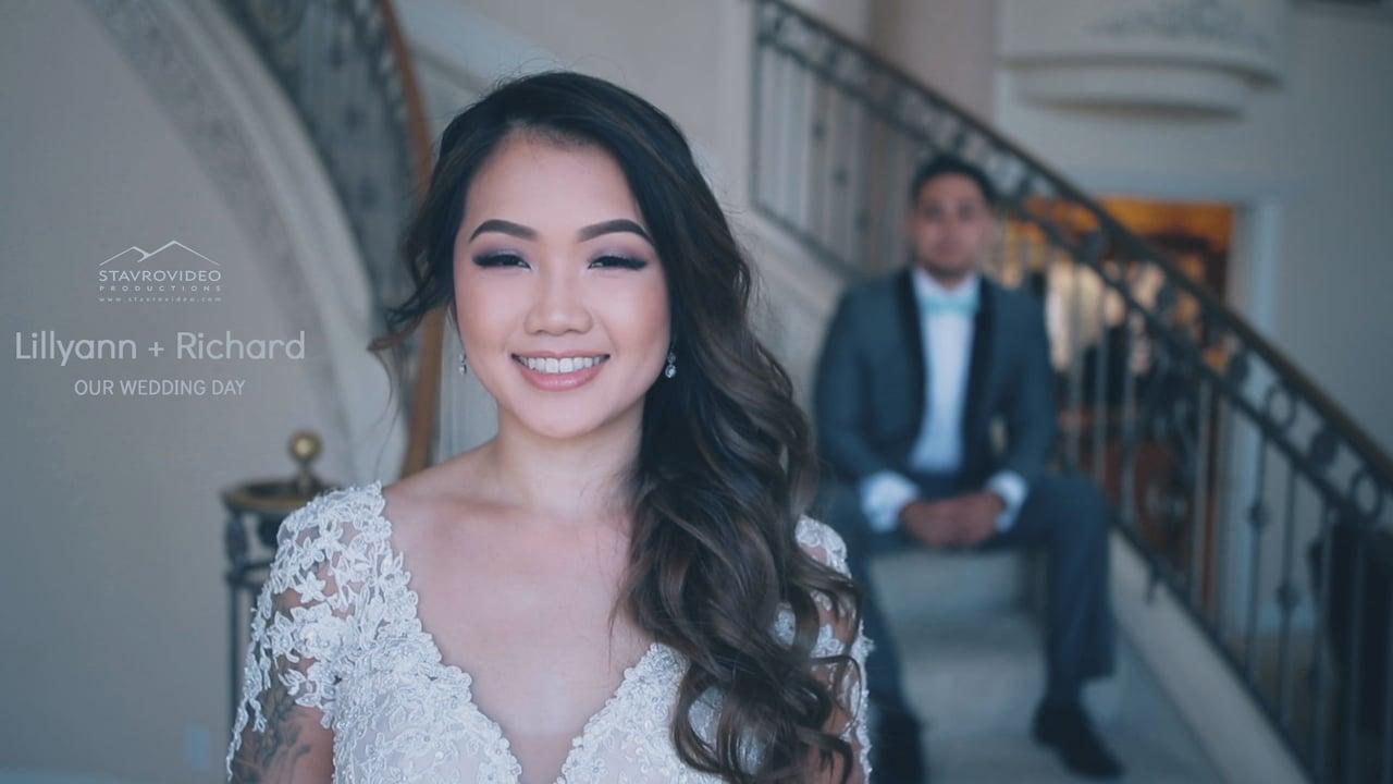 Lillyann + Richard's Wedding Highlights at METROPOL banquet hall