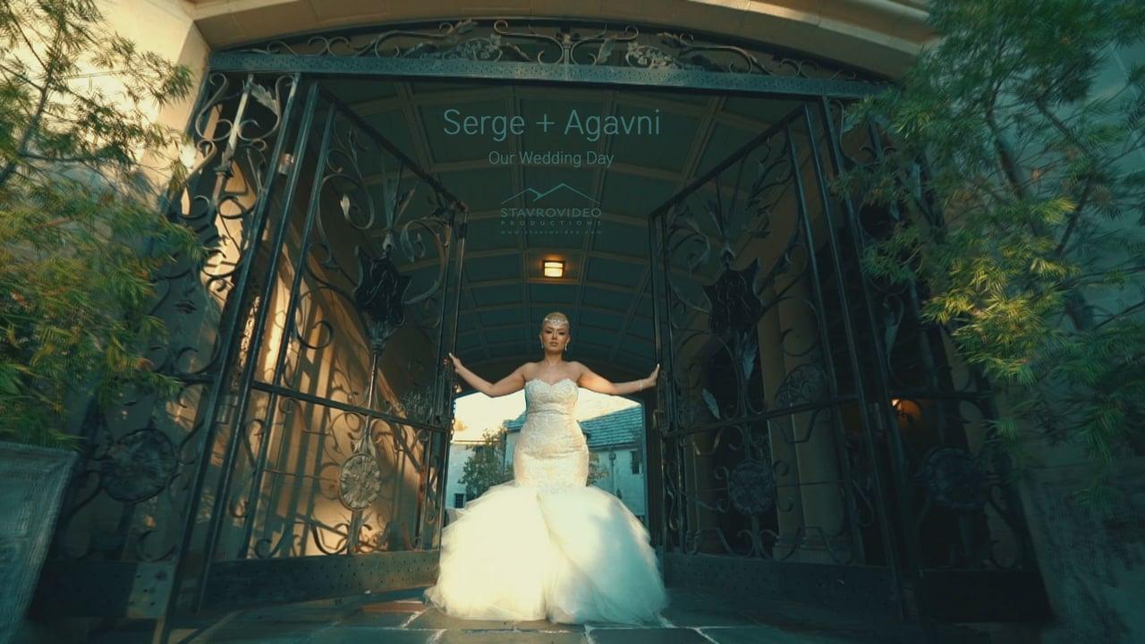 Serge + Agavni's Wedding Highlights at Renaissance Hall st Garabed Church and Greystonr Mention