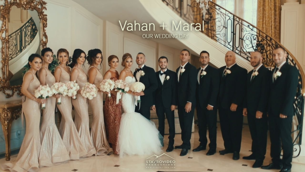 Vahan + Maral's Wedding Highlights at Renaissance Hall and st Mary's Church