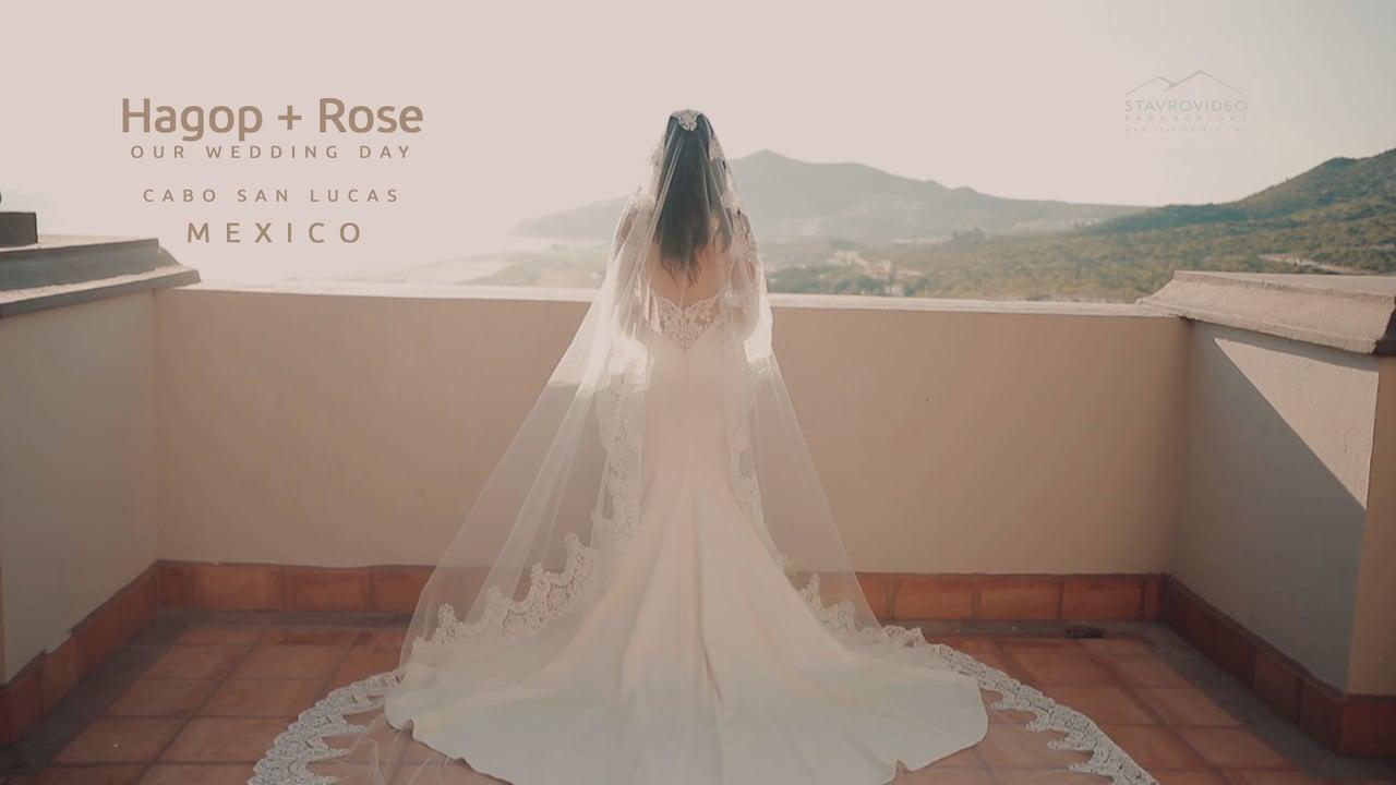 Hagop + Rose's Wedding in Cabo San Lucas MEXICO