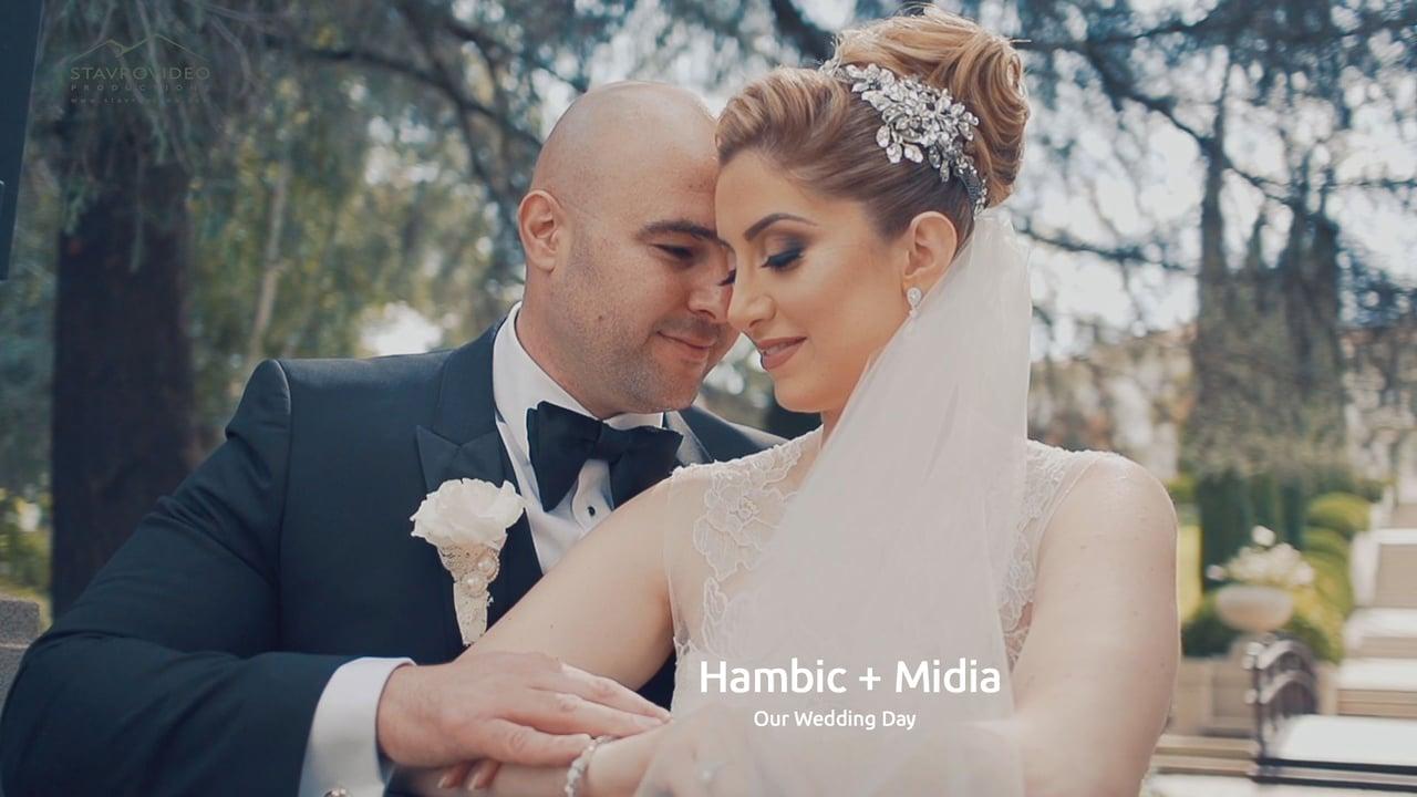 Hambic + Midia's Wedding Highlights at Palladio Hall st Marys Church and Ambassador park